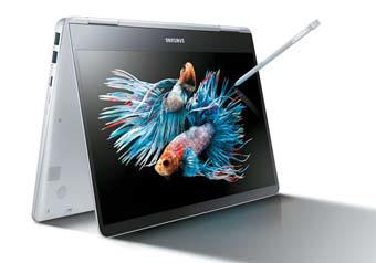 삼성은 노트북 업종에서 78점으로 전년의 점수를 유지하며 1위를 차지했다. 사진은 삼성 Pen 노트북.