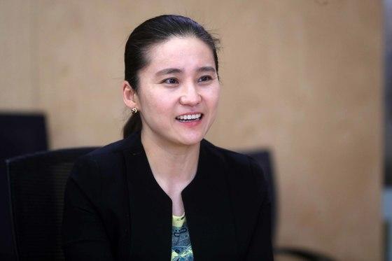 글로벌녹색성장연구소(GGGI)에서 일하는 한국인 직원 정인희 선임연구위원. 김상선 기자