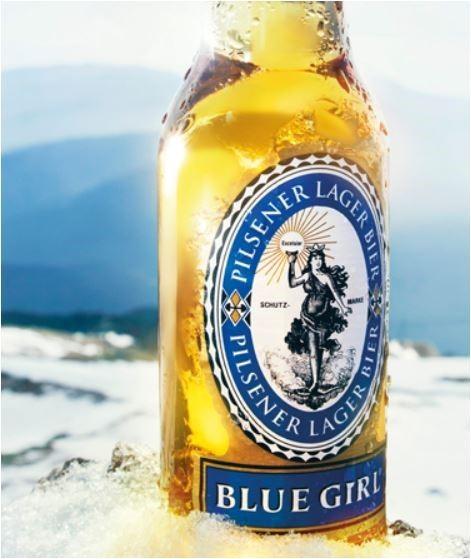홍콩 브랜드이지만 한국에서 OEM해서 생산된다는 블루걸 맥주 [출처: 블루걸 홈페이지 캡처, https://www.bluegirlbeer.com/age]