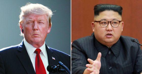 도널드 트럼프 미국 대통령과 김정은 북한 노동당 위원장. [사진 AP=연합뉴스]