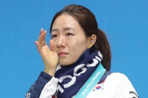 2018 평창 겨울올림픽 스피드스케이팅 여자 500m에 출전해 은메달을 딴 한국 이상화. 우상조 기자