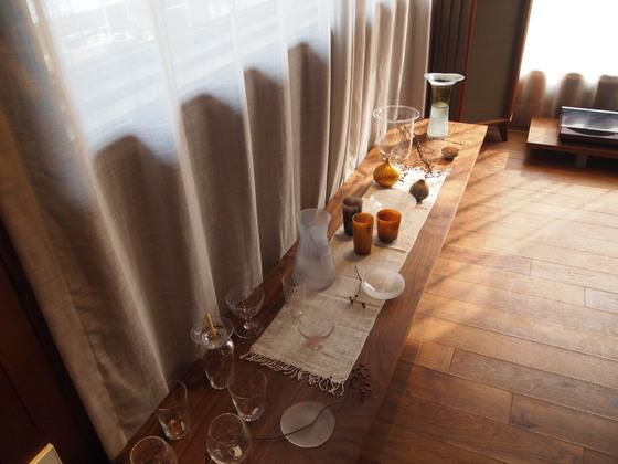 일본 유리 공예 작가의 작품들. 입으로 불어서 하나하나 만드는 세상에 딱 하나뿐인 물건들이다.