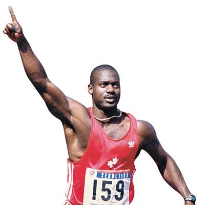 88올림픽 당시 도핑 적발로 금메달을 박탈 당했던 캐나다 육상선수 벤 존슨. [중앙포토]