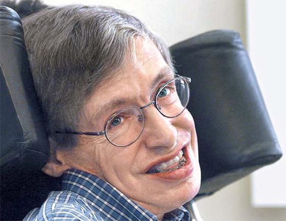 1999년 독일 포츠담에서 열린 콘퍼런스에 참석한 스티븐 호킹 박사. [중앙포토]
