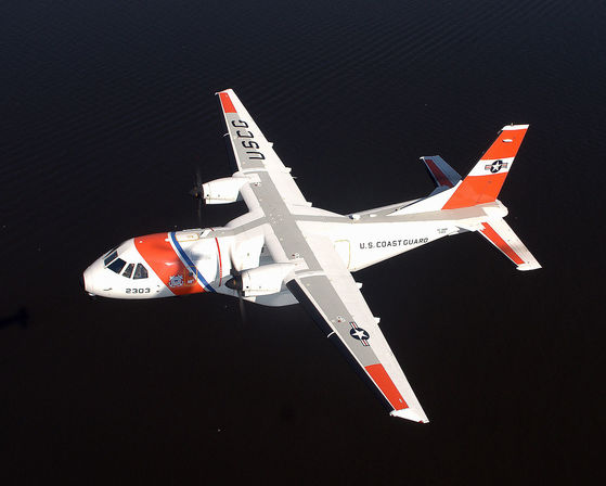 미 해안경비대의 해상초계기 카사 HC-144A 오션 센트리. [사진 미 해안경비대]