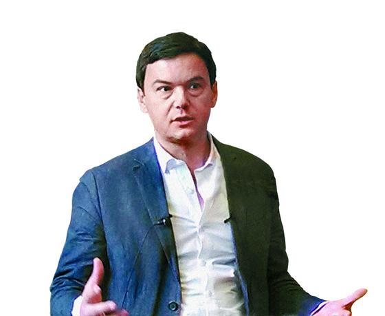 프랑스의 세계적인 경제학자 토마 피케티. [중앙포토]