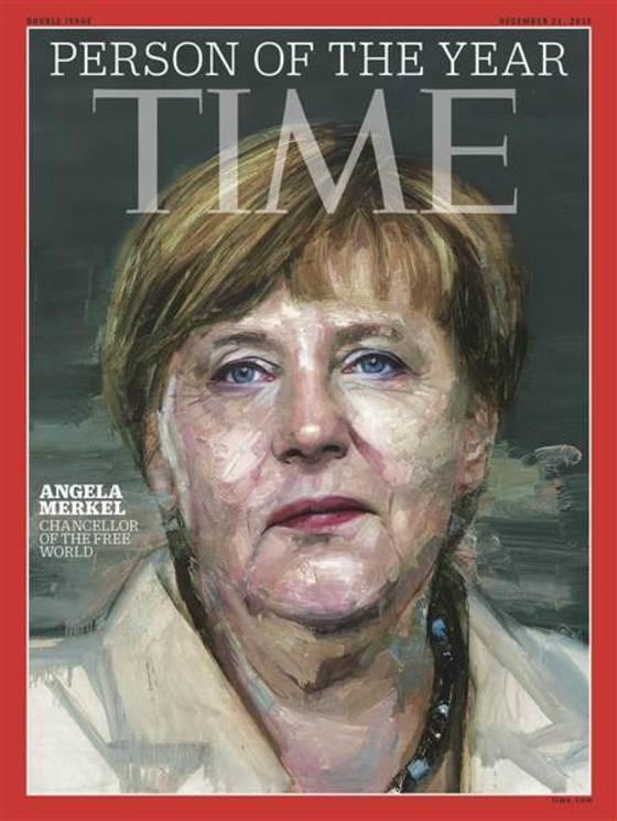미국 시사지 타임은 앙겔라 메르켈 독일 총리를 '2015년 올해의 인물'로 선정했다. 타임은 선정 이유로 난민·테러리즘에 대한 적극적 대처를 꼽았다. [타임]