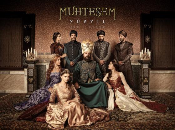 오스만 제국 시대를 그린 터키 사극 '위대한 세기(무흐테솀 유즈이을). [중앙포토]