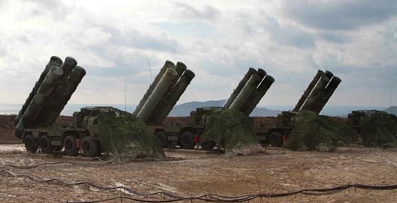 러시아의 S-400 방공시스템. [사진 셔터스톡]