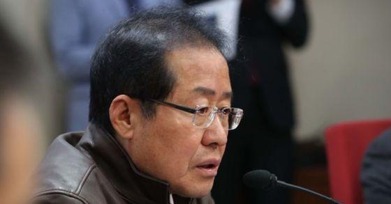 자유한국당 홍준표 대표. 오종택 기자