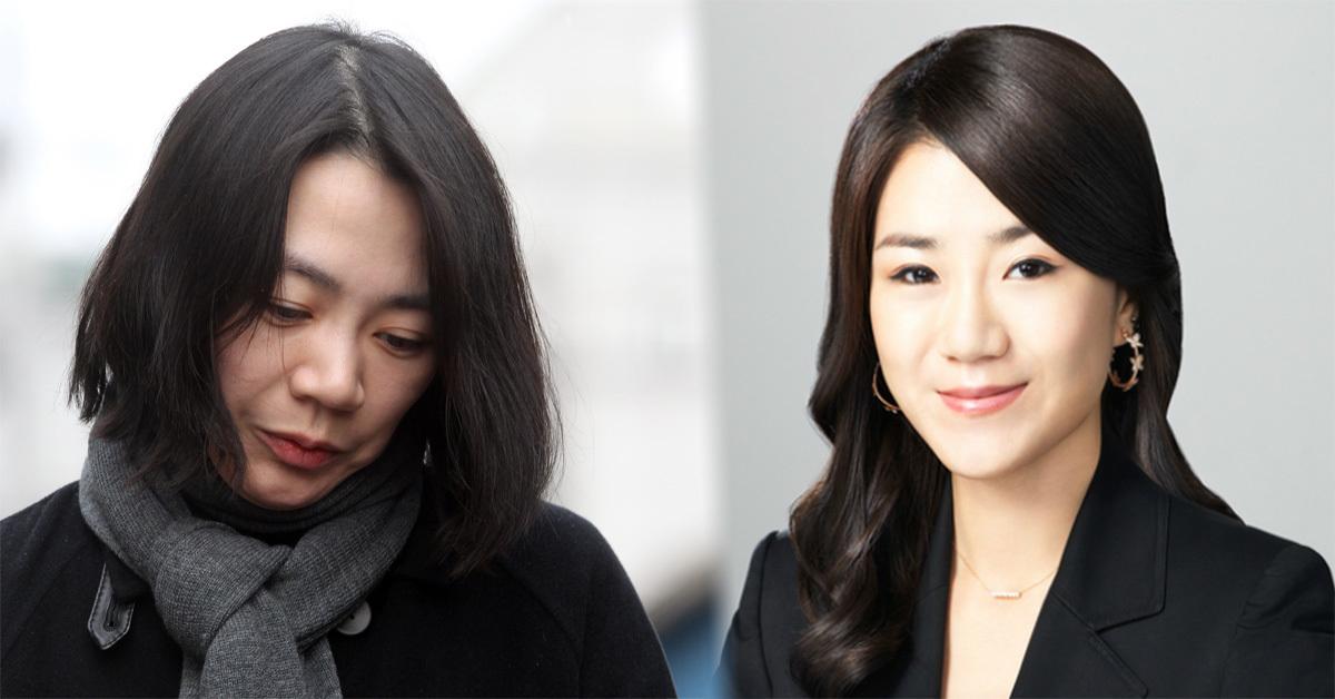Cho Hyun-ah and Cho Hyun-min