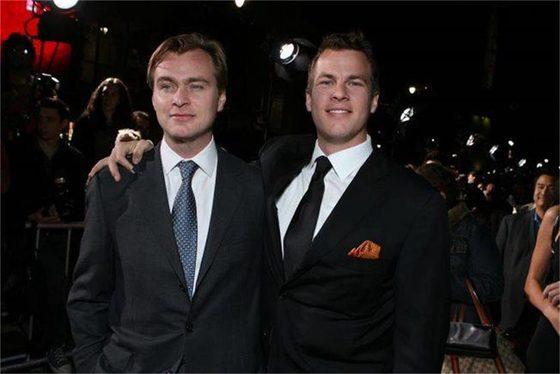 크리스토퍼 놀란 감독(왼쪽)과 각본가이자 제작자 조너던 놀란(오른쪽)