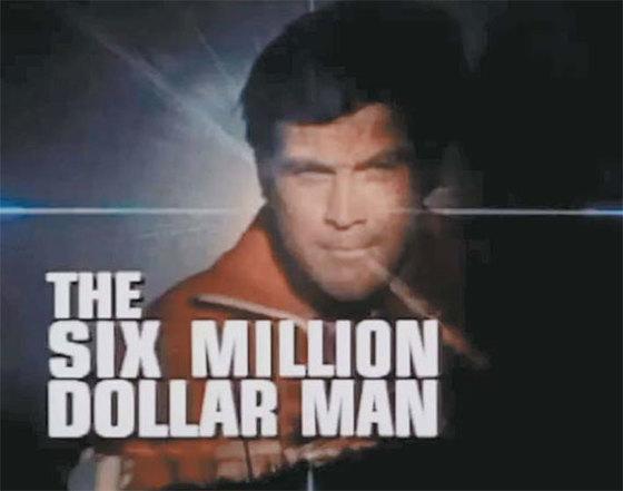 1970년대 인기 TV 드라마 '6백만불의 사나이'는 20배 줌을 갖춘 인공 눈 등 첨단 바이오 인공장기로 무장한 초인이다. [중앙포토]