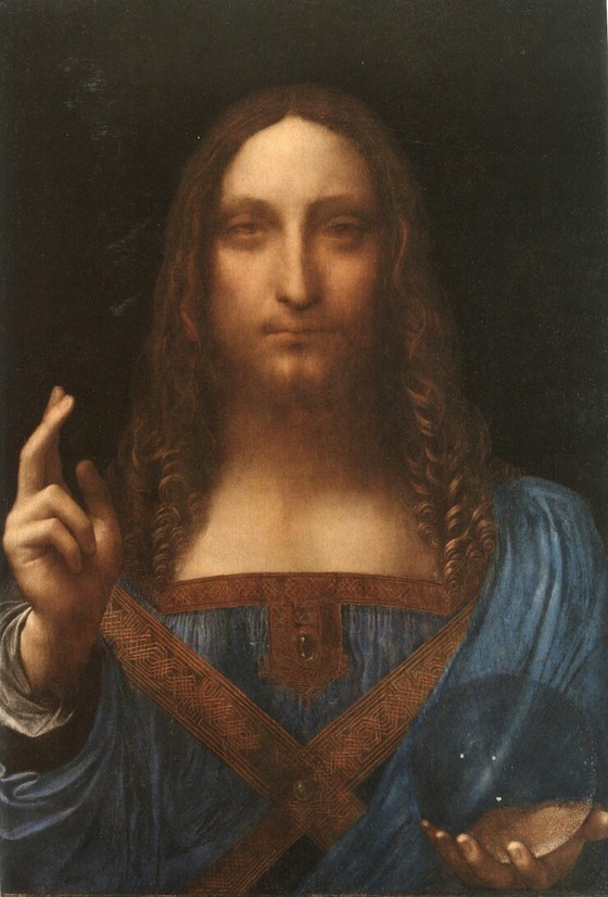 레오나르도 다빈치의 '살바토르 문디'