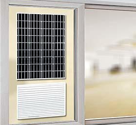솔라크린에어는 태양광을 통해 스스로 작동하는 새로운 개념의 공기청정기다. [사진 다연테크]