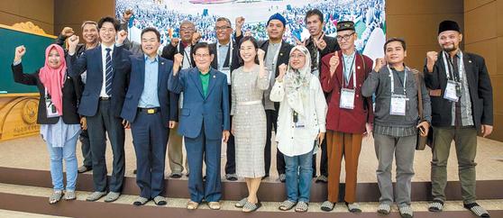 'HWPL 평화교육 교사 워크숍'이 지난 4일부터 7일까지 3박4일간 인도네시아의 5개 대학교 관계자들이 참여한 가운데 열렸다. [사진 HWPL]