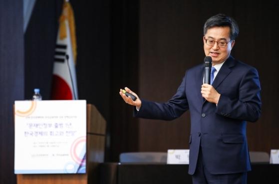김동연 경제부총리 겸 기획재정부 장관. [연합뉴스]