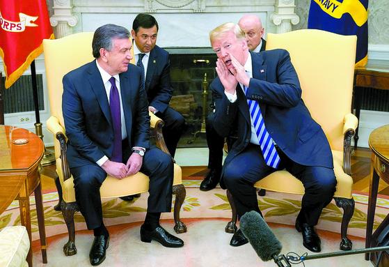 """트럼프 '북·미 회담, 시간이 말해줄 것"""""""