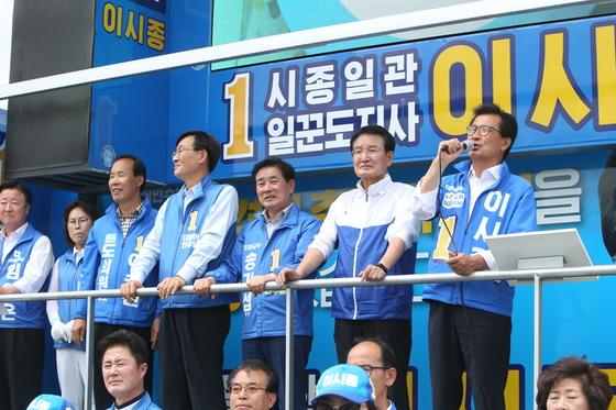 더불어민주당 이시종 충북도지사 후보