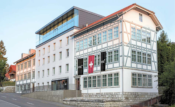 몽블랑은 빌르레 매뉴팩처에서 혁신적인 첨단 기술을 결합해 스위스 파인 워치 메이킹의 유산을 발전 시키고 있다. 사진은 빌르레 매뉴팩처 전경. [사진 몽블랑]