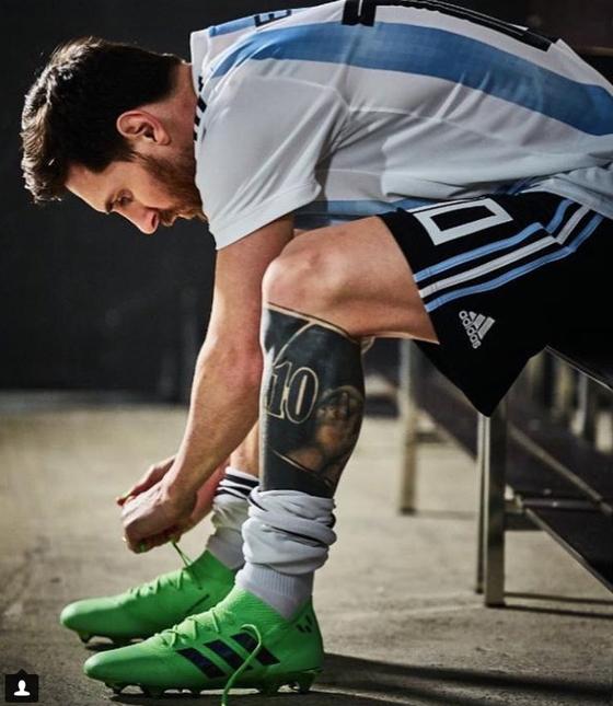 러시아 월드컵에서 우승을 꿈꾸는 리오넬 메시. [메시 인스타그램]