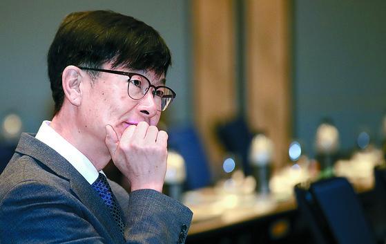 김상조 공정거래위원장. [연합뉴스]