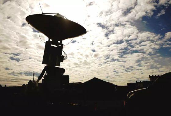 미국의 정찰 인공위성이 획득한 정보를 수신하는 이글비전 시스템 안테나. 미 우주군이 만들어지면 안테나 관리도 맡을 것으로 보인다. [사진 미 공군]