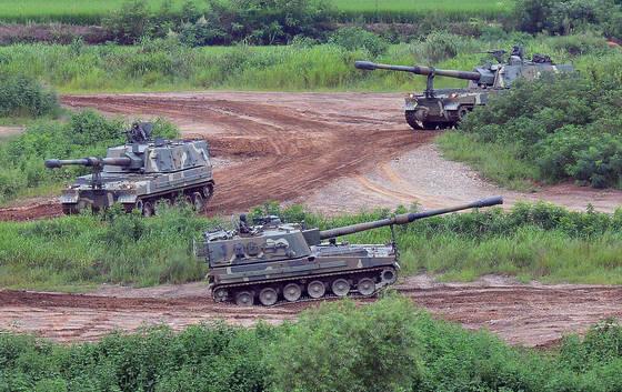 지난해 UFG 합동군사훈련 모습. [뉴시스]