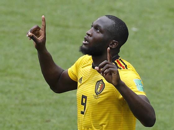 러시아 월드컵에서 4골을 기록 중인 벨기에 루카쿠는 득점왕 경쟁에서 대역전극을 꿈꾸고 있다. [AP=연합뉴스]