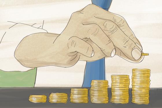 퇴직연금은 분산투자가 전제되어야 한다. [중앙포토]