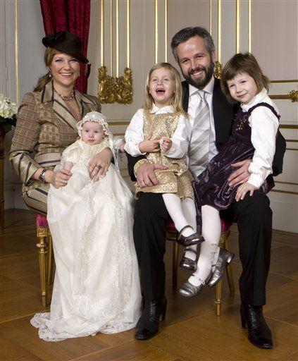노르웨이 마르타 루이세 공주 부부.