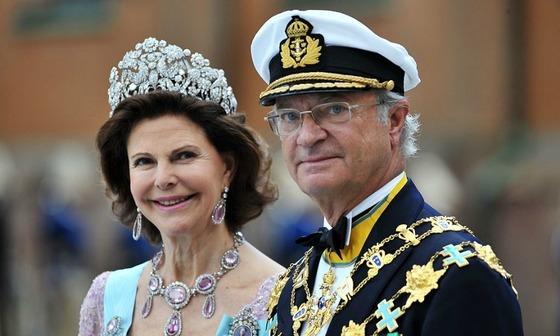 스웨덴 칼 16세 구스타프 국왕과 소피아 왕비. 1972년 뮌헨올림픽에서 귀빈과 통역으로 만났다.