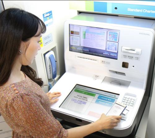 NHN엔터테인먼트, '페이코' ATM 입출금 서비스 시작
