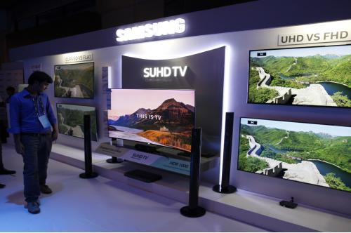 삼성전자,'퀀텀닷 SUHD TV'로 서남아 TV 시장 공략