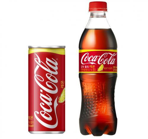 코카-콜라, 레몬향 담은 '코카-콜라 레몬' 출시