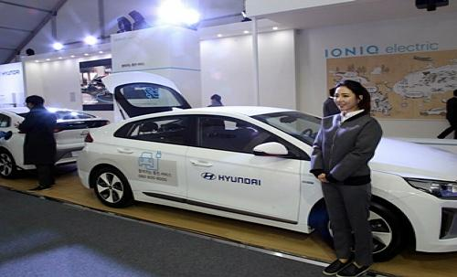 현대자동차, 국제 전기 자동차 엑스포 참가.. 아이트림 첫선