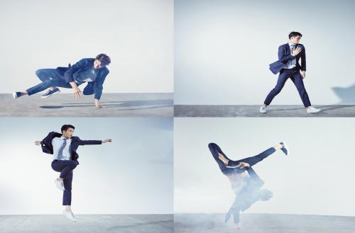 [패션영상]앤드지 바이 지오지아, '비보이·현대 무용수' 참여…'이모션 수트' CF 영상 공...