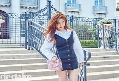 유인나, 화창한 햇살아래 LA에서의 패션 화보 공개