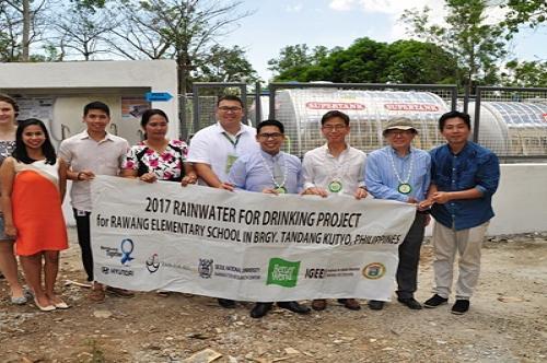 현대자동차, 필리핀 식수 자립 지원.. 빗물센터 개소