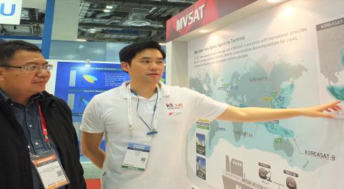 KT SAT,방송·통신 전시회 커뮤닉아시아2017 참가