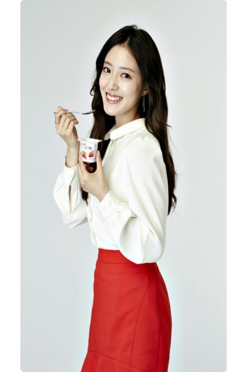 빙그레 요플레, 새로운 모델로 배우 이세영 선정