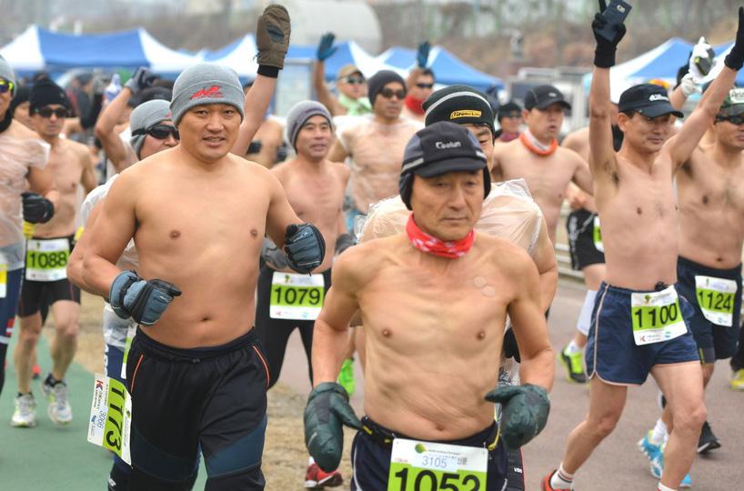 알몸마라톤대회 [뉴시스]