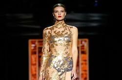 스페인`패션위크` 란제리 브랜드 컬렉션(AP=뉴시스)