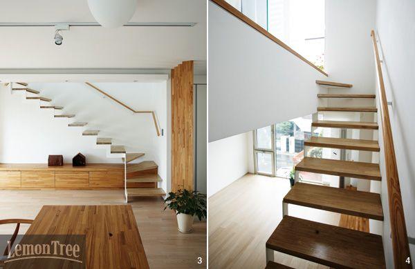 올라갈수록 좁아지는 신기한 16평 작은 집