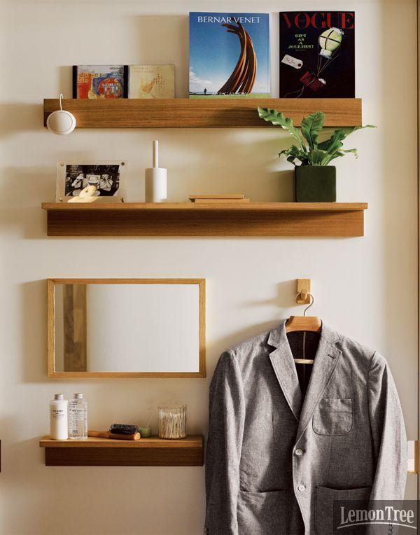 리빙 브랜드 숍에서 작은 집 솔루션을 읽다