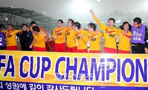 韓流サッカーをエンジョイ