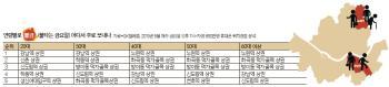 [빅 데이터로 본 강남] '불금' 보내는 장소 … 20대는 강남역, 40대 이상은?