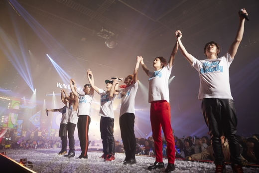 "BTOB at first solo concert ""Hello, Melody"""