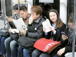 [江南通新이 담은 사람들] 새해 계획은 독서, 달리는 독서실 어때요