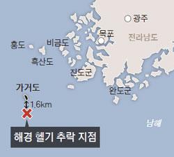 """""""7세 아이 맹장염"""" 한밤 악천후 속 출동 … 4명 사망·실종"""